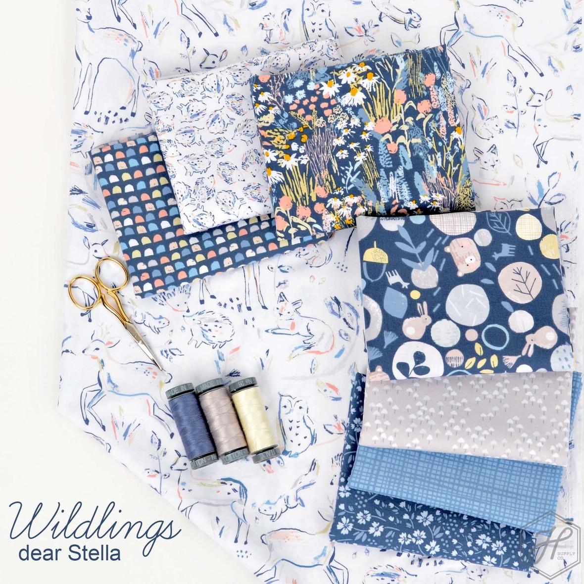 Wildlings Fabric Dear Stella at Hawthonre Supply Co