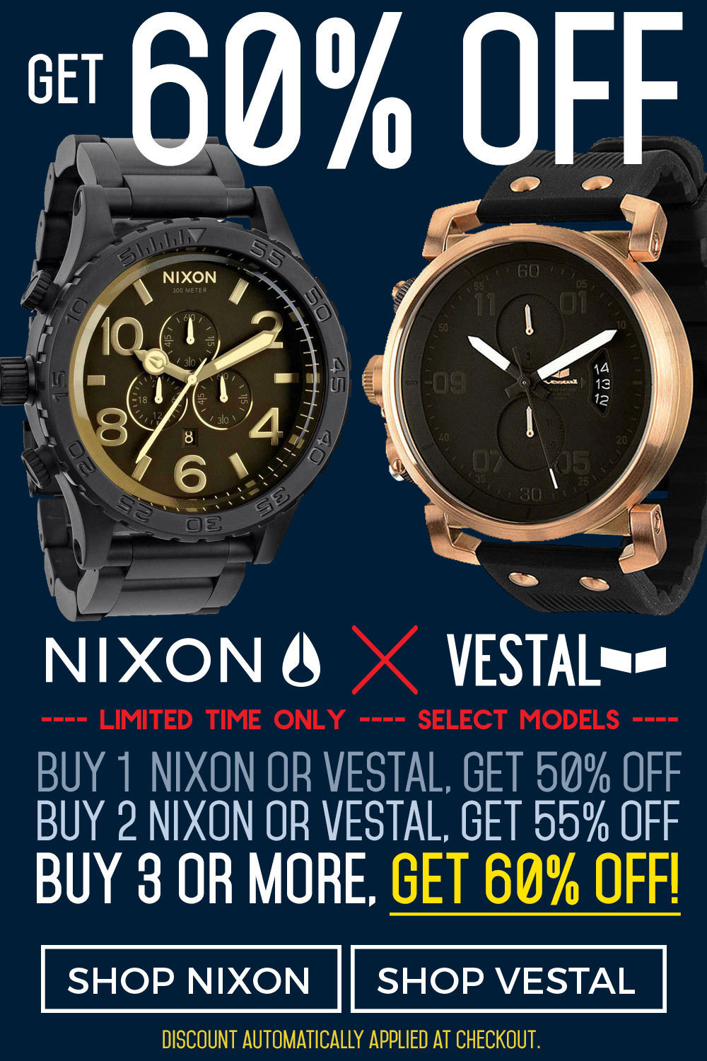 Nixon-Vestal-60off-Sale