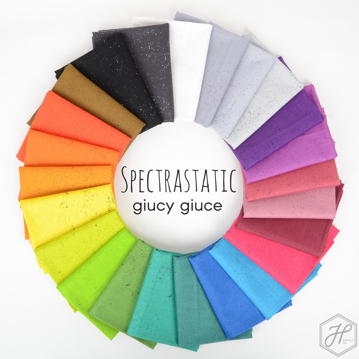 Spectrastatic Giucy Giuce fabric for Andover available at Hawthorne Supply Co