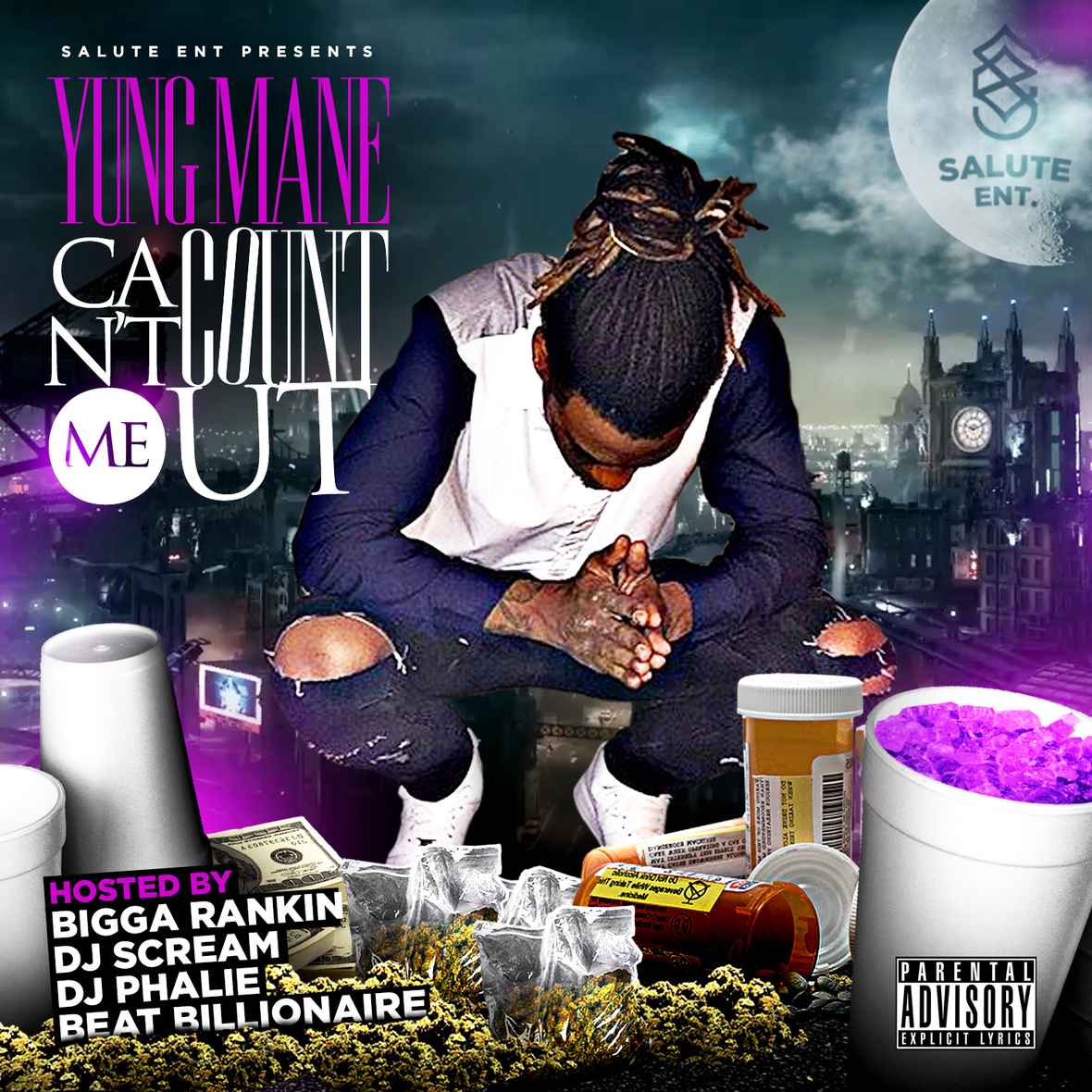 Yung Mane - Can t Count Me Out Front Cover  1