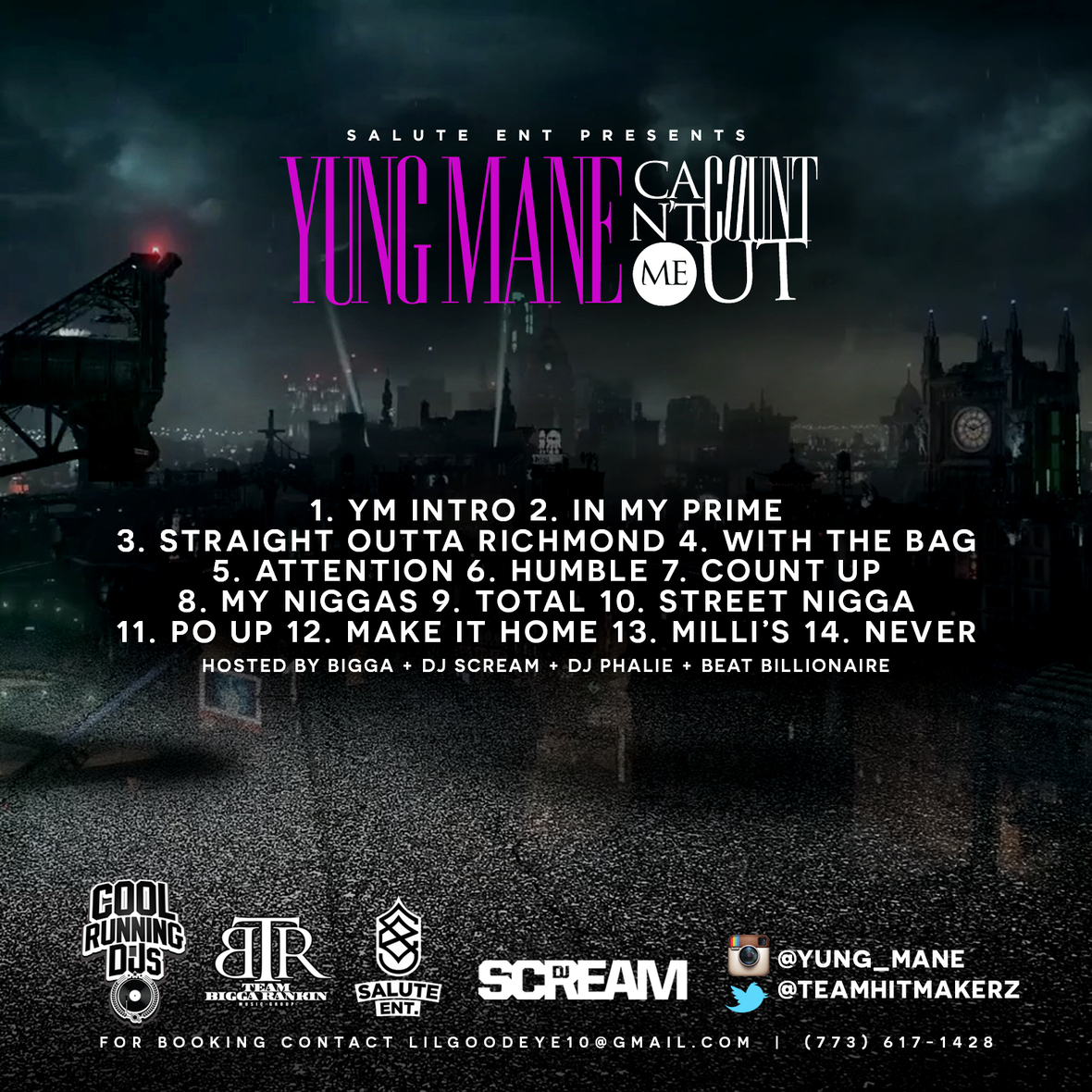 Yung Mane - Can t Count Me Out Back Cover  1