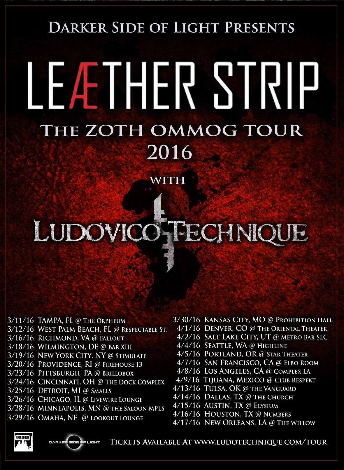 Tour Flier