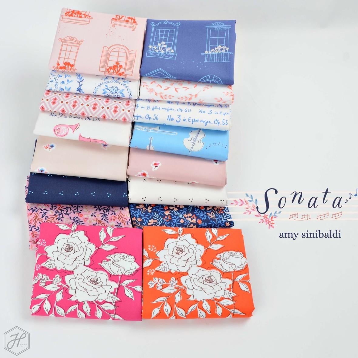 Sonata Fabric Poster Amy Sinibaldi for Art Gallery at Hawthorne Supply Co