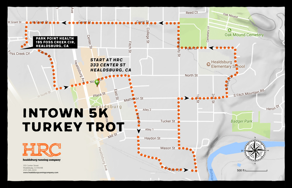 intown 5K turkey trot parkpoint