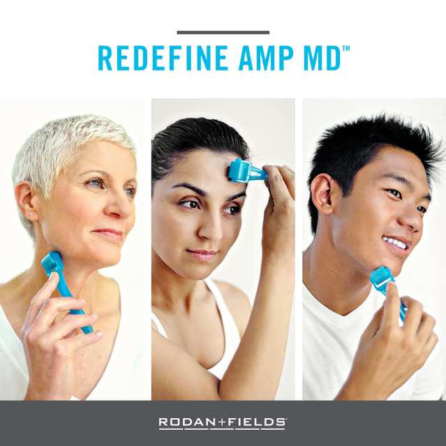 74a166a2a45 Clinical studies show that when REDEFINE Regimen and the AMP MD™ System are  used together, smoother, softer skin can ...