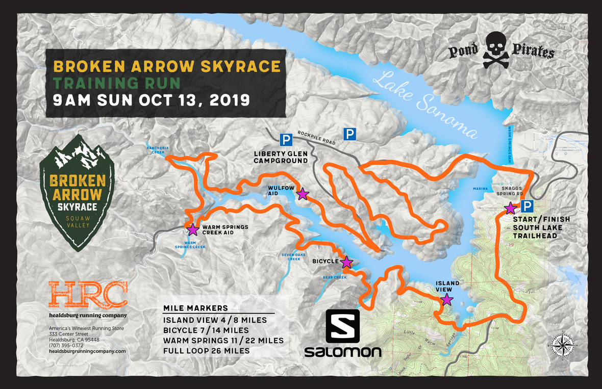 Lake sonoma broken arrow map