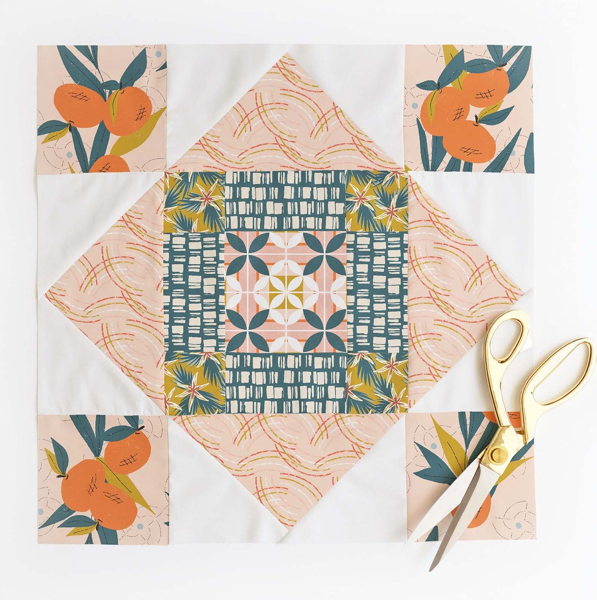 Meadowland Quilt Block 3