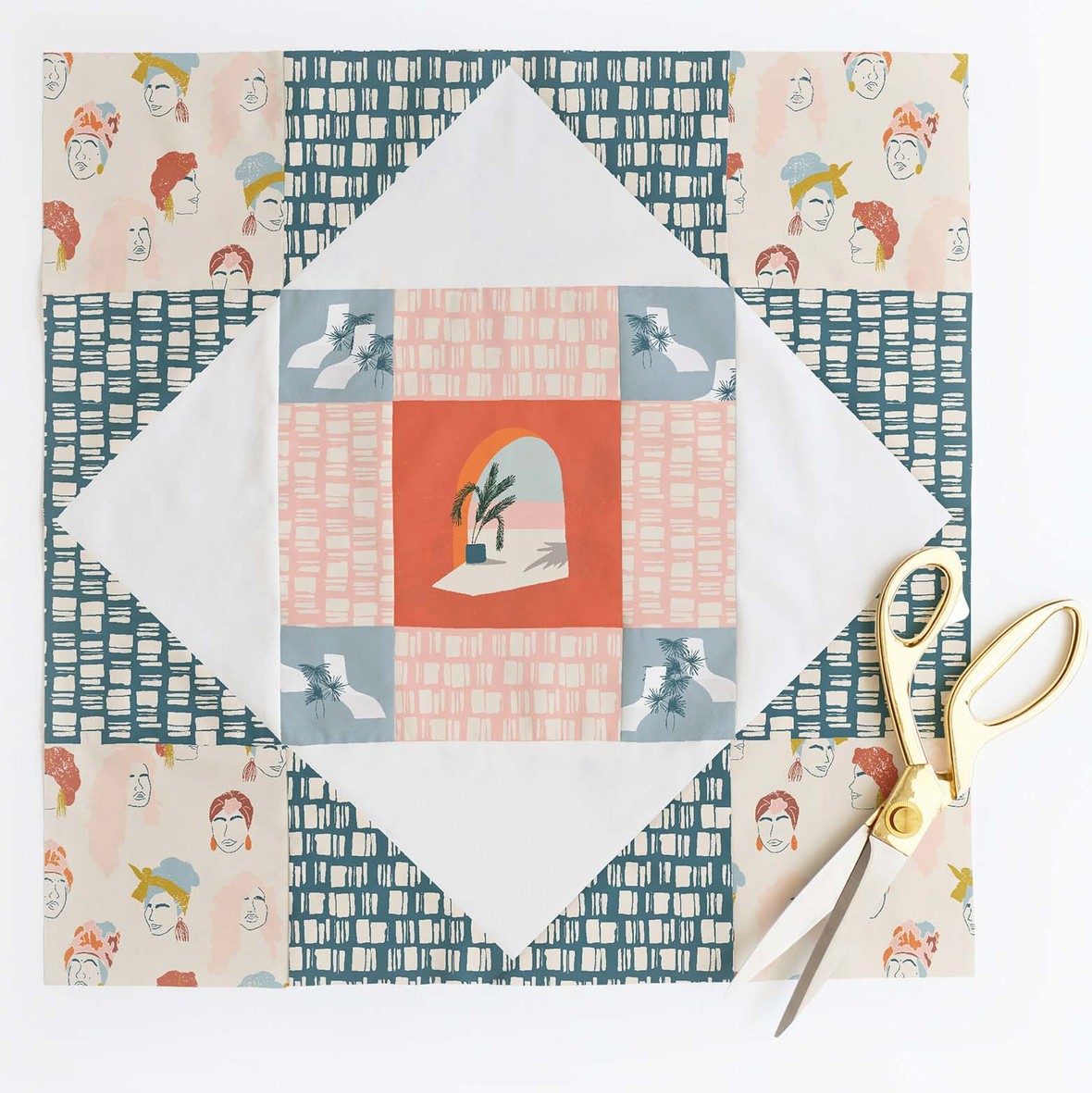 Meadowland Quilt Block 4