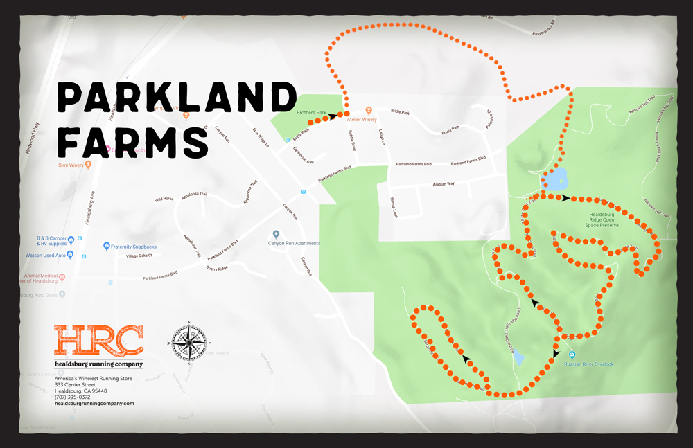 parkland farms map