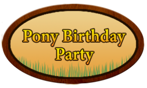 pony birthday party-300x180