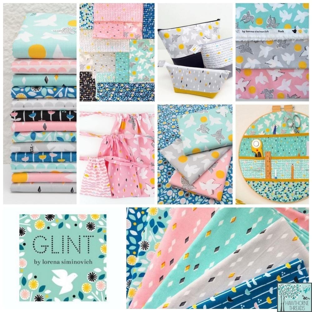 Glint Fabric Poster