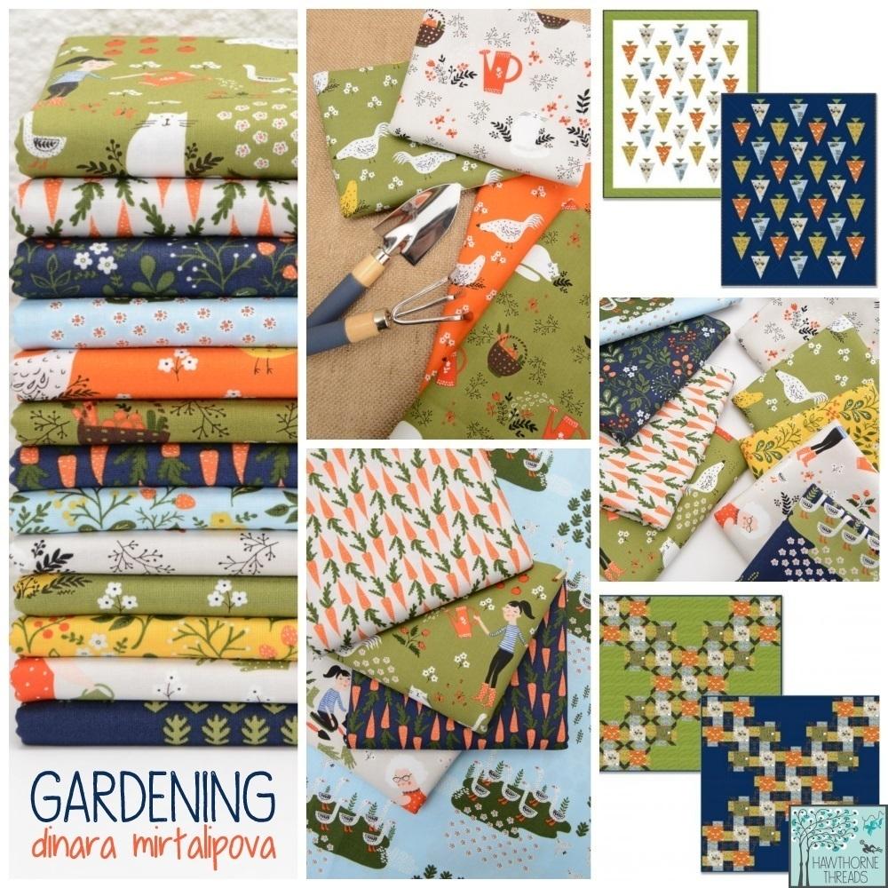 Gardening Fabric Poster Dinara