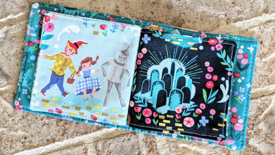 Dorothy s Journey Fabric Book