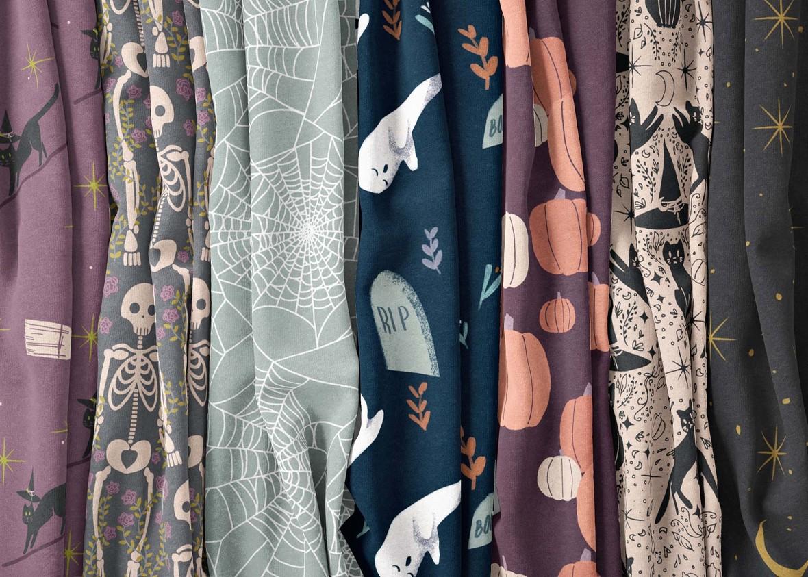 Halloween Fabric Assortment