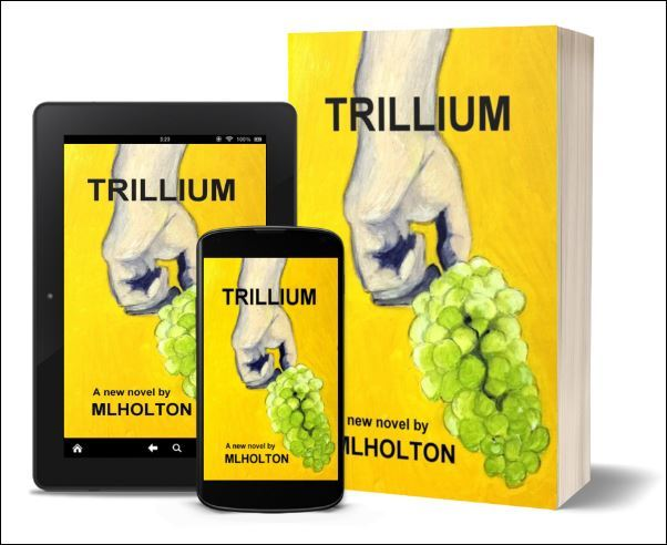 Ebook or Paperback - TRILLIUM by MLHolton