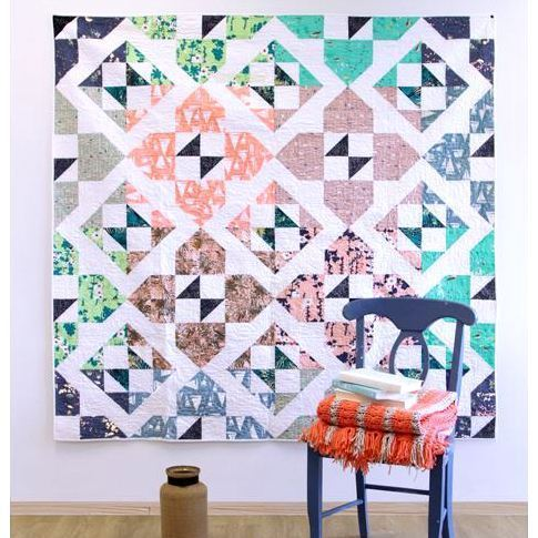 sharon holland cross sea quilt kit sewing pattern