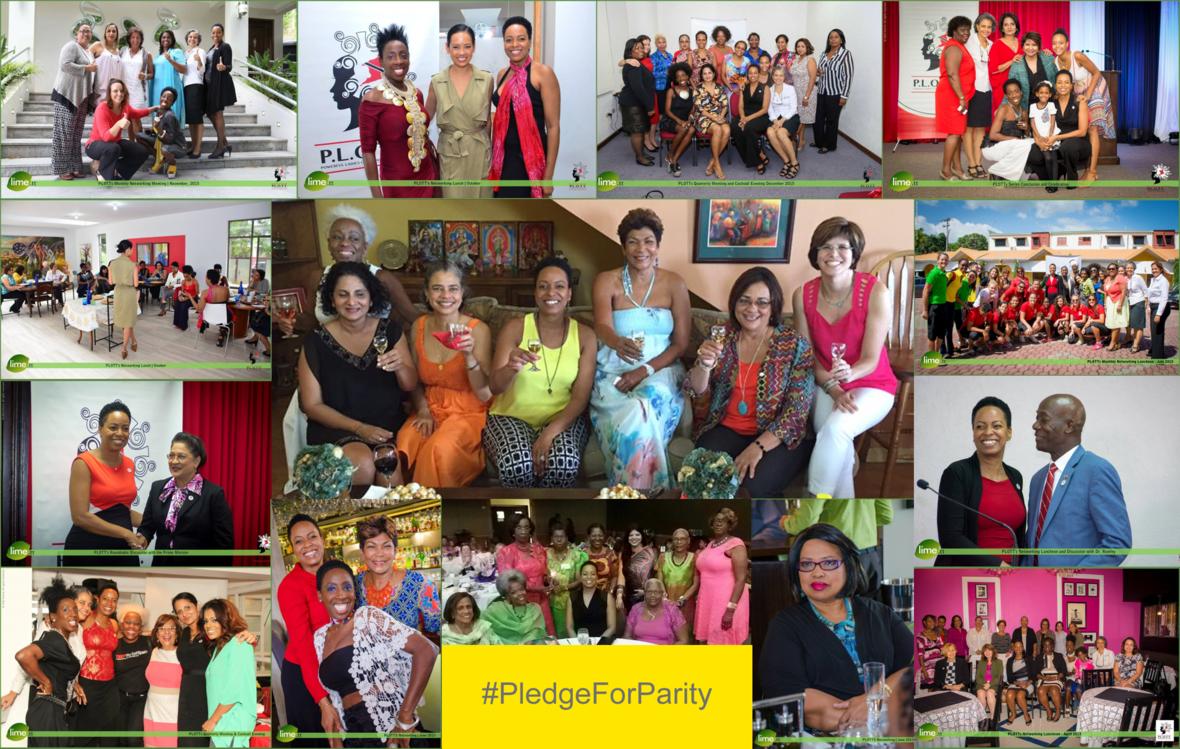 PLOTT PledgeForParity collage