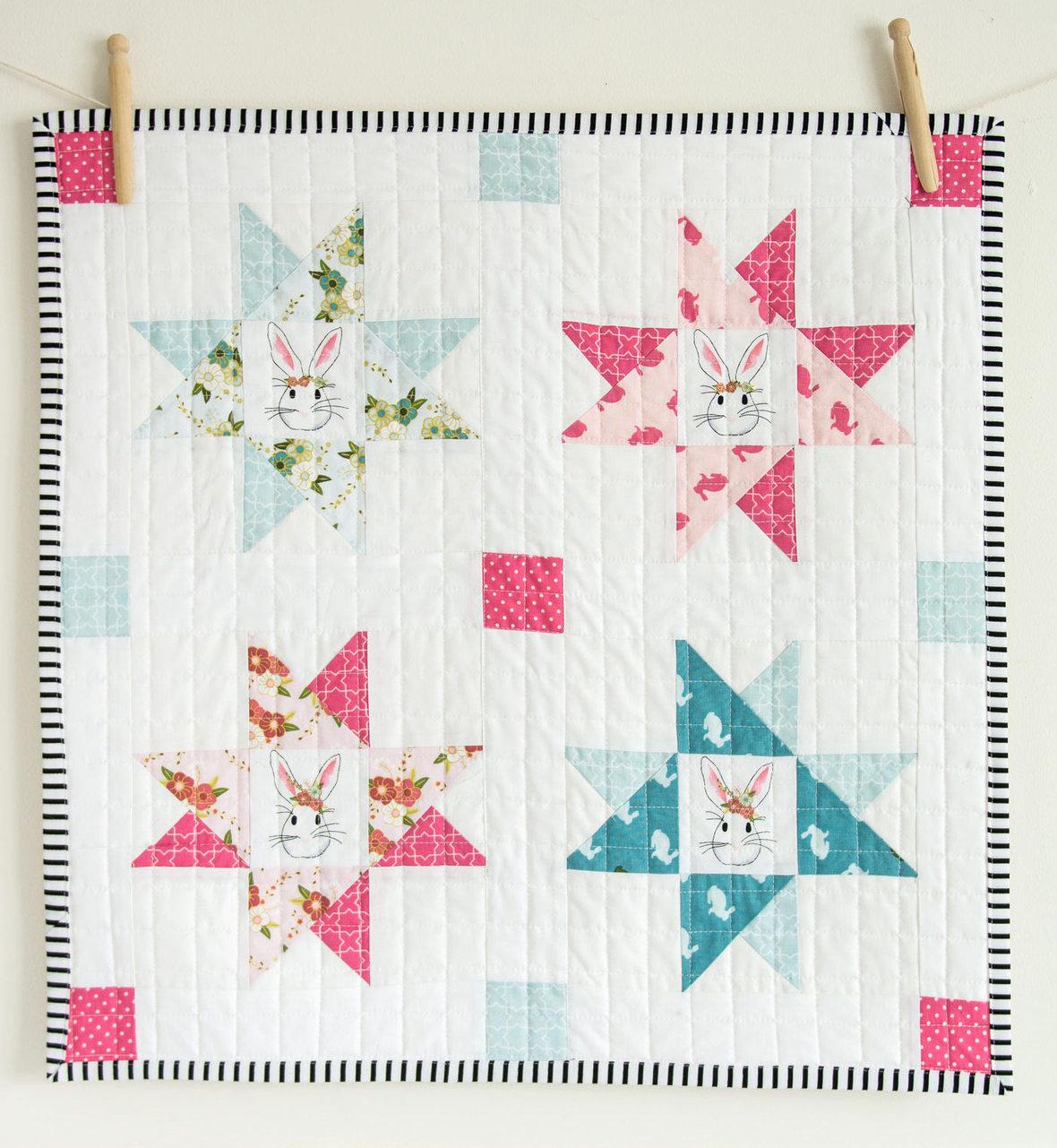 wonderland-fabric-idea-projects-mini-quilt Melissa M Blog2