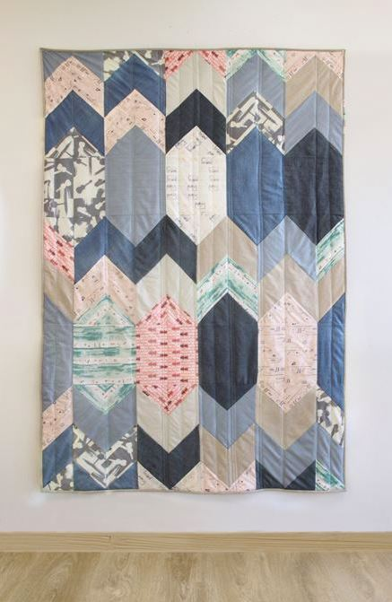 agf studio replay quilt kit sewing pattern