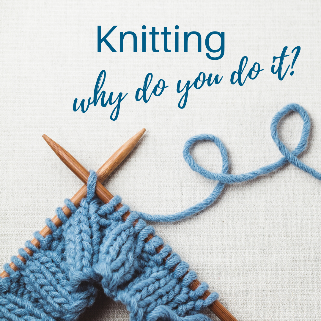 Knitting is not a hobby