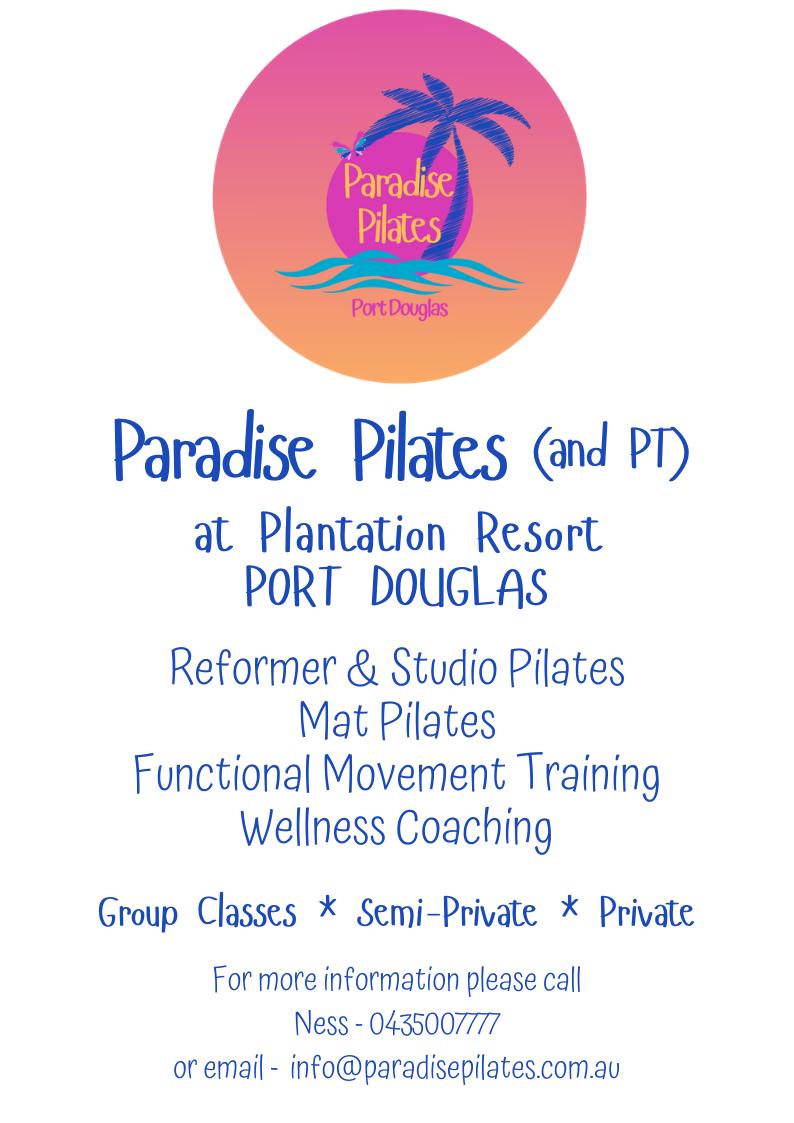Paradise Pilates flyer