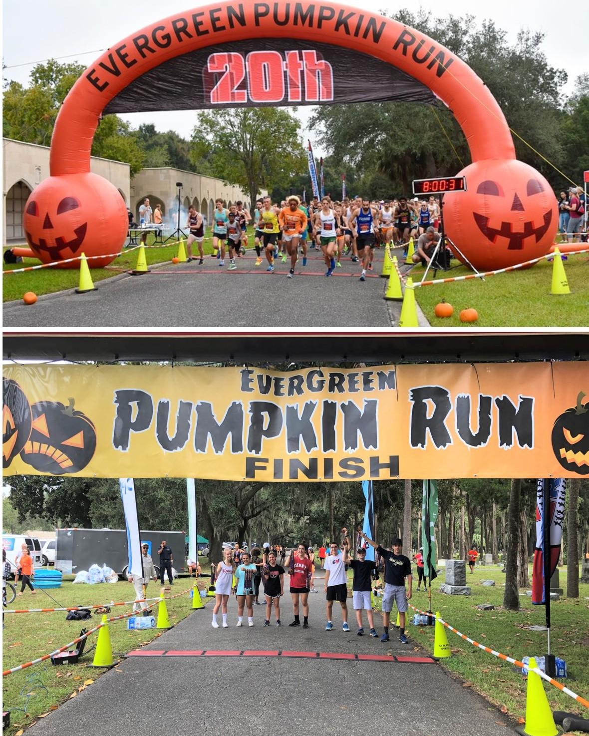 Pumpkin Run Collage