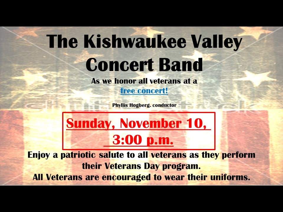 Kishwaukee Valley Band Concert for website