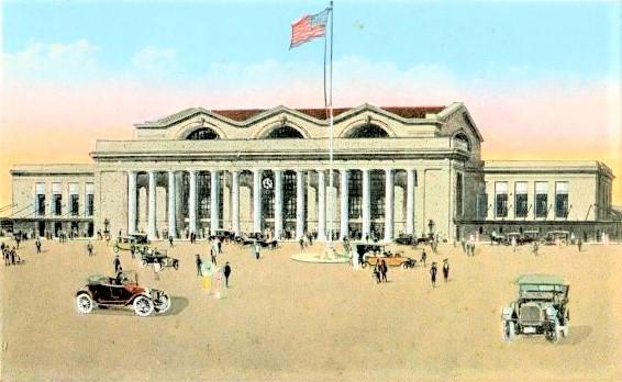 Jax Terminal postcard 1920 s FL Archives