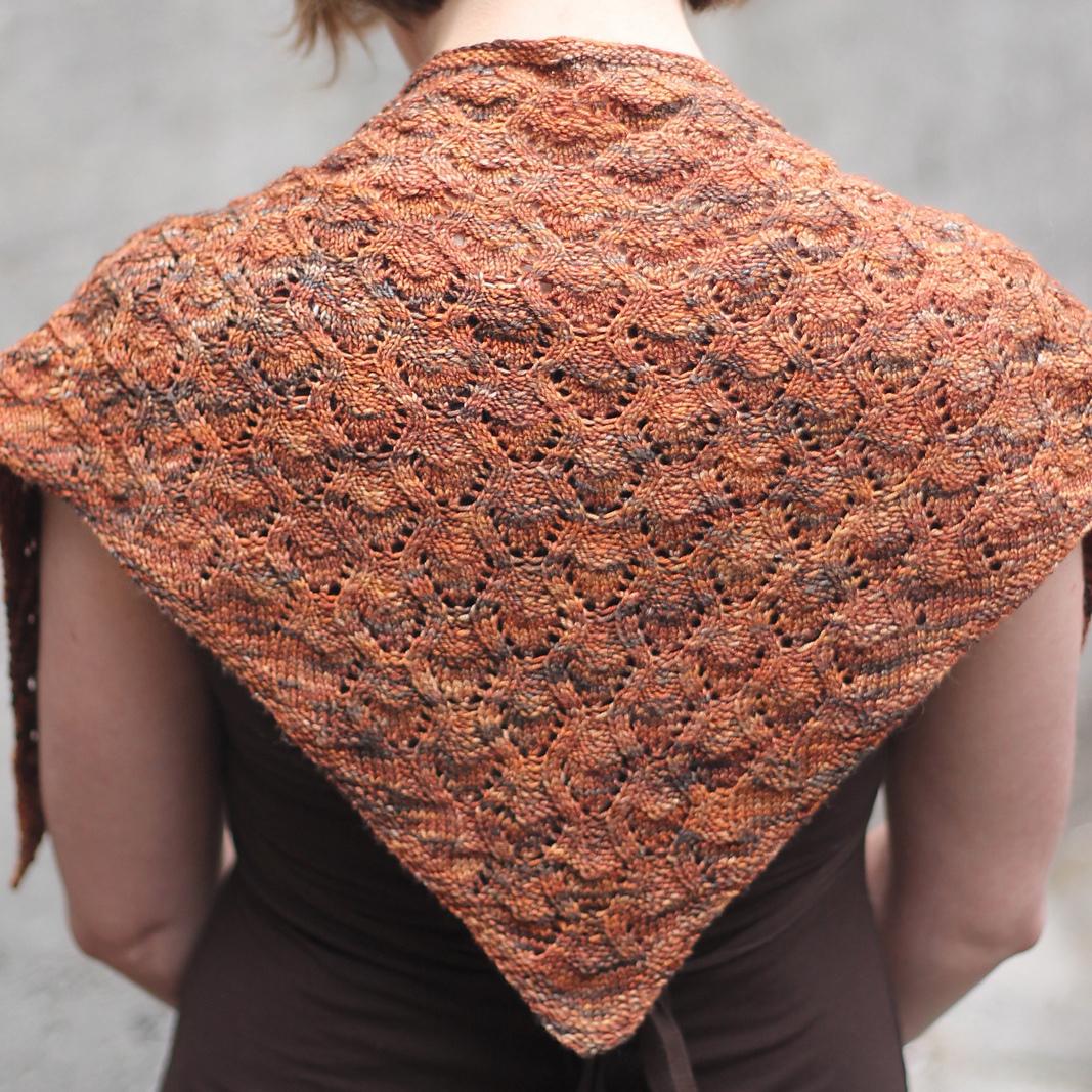 Valerian shawl