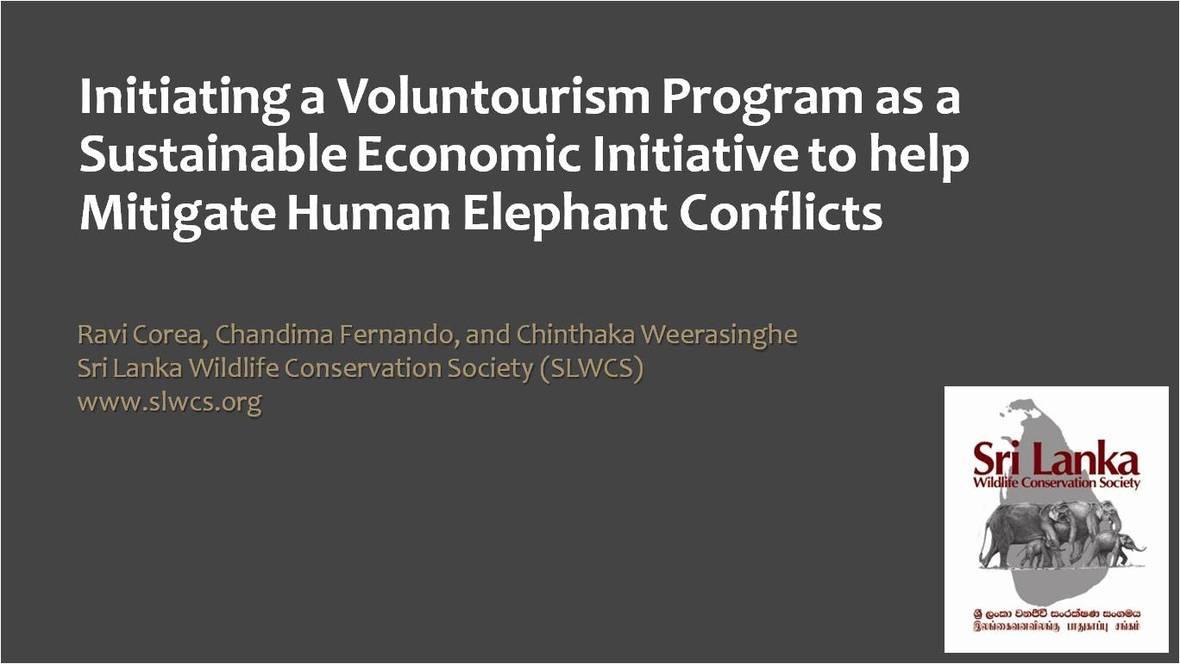 IEF Voluntourism Program Presentation