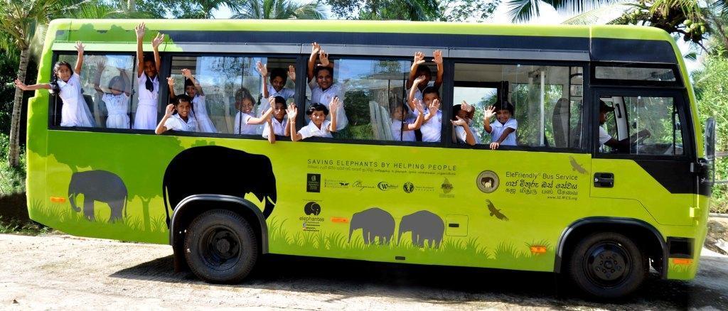 EleFriendly Bus With Children