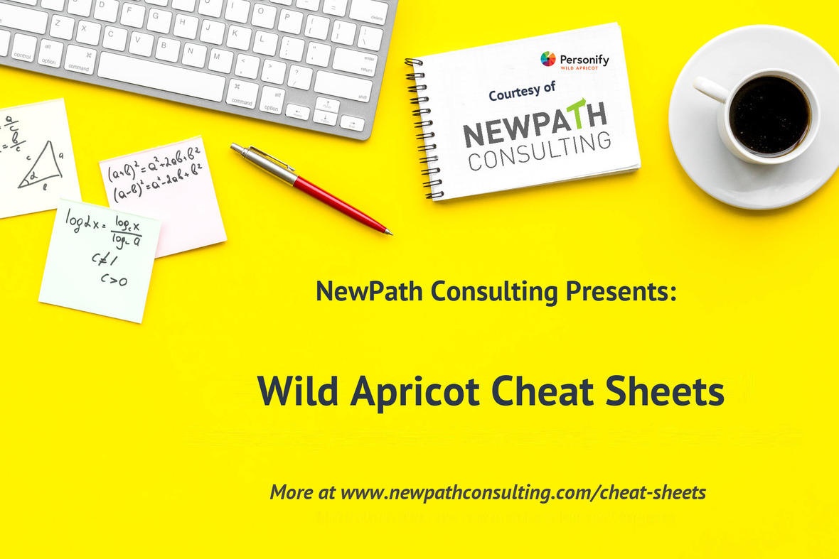 Cheat Sheet Intro Screen template