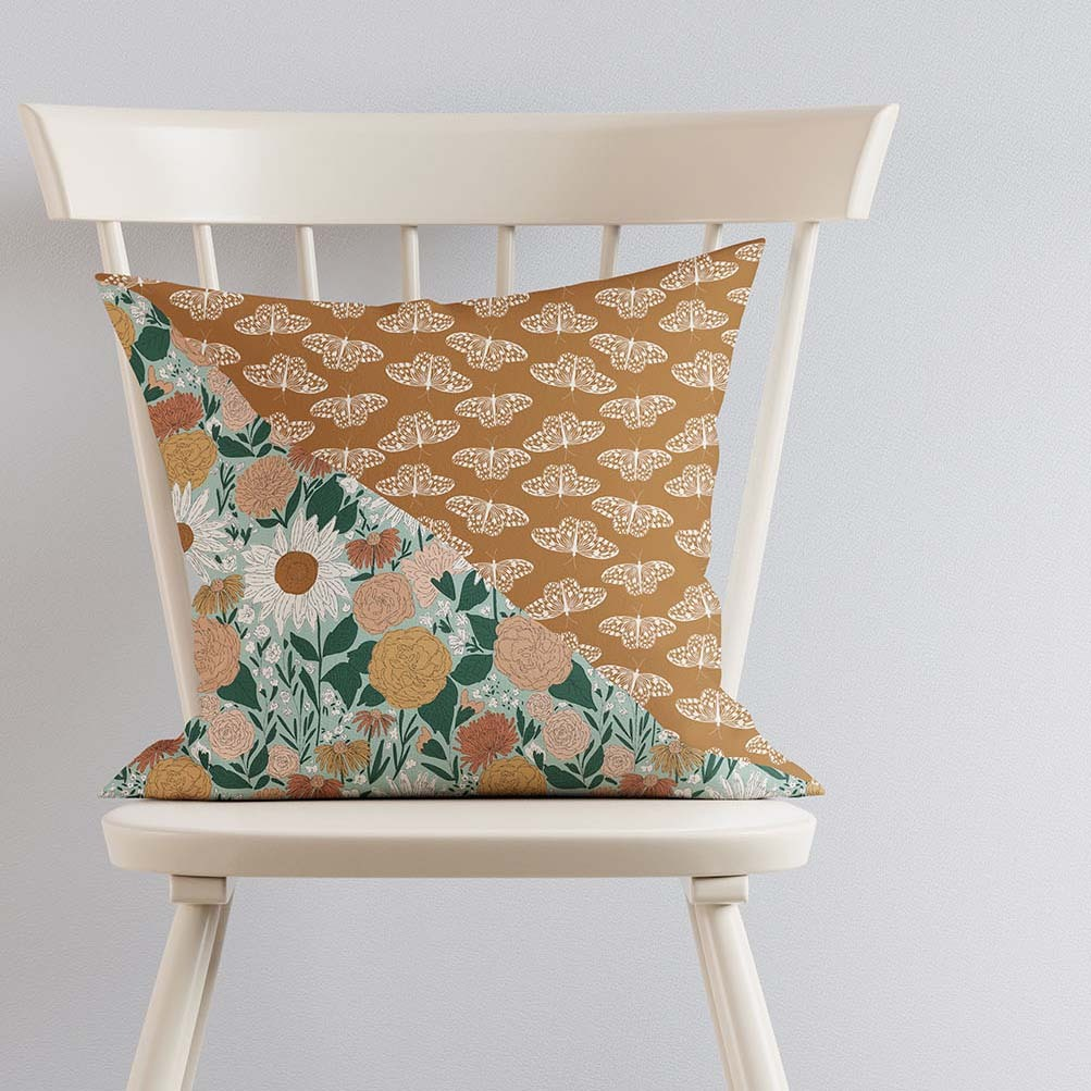 Pillow on Ivory Chair 2