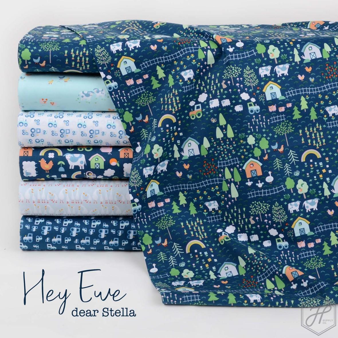 Hey Ewe Dear Stella fabric at Hawthorne Supply Co