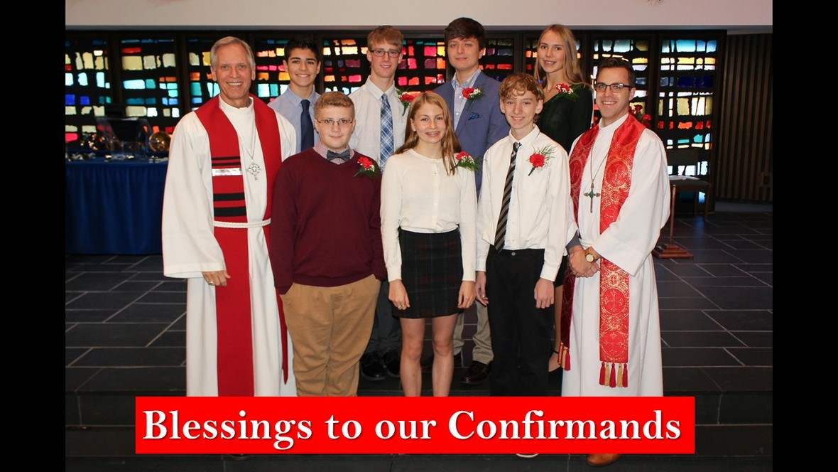 Confirmands 2019