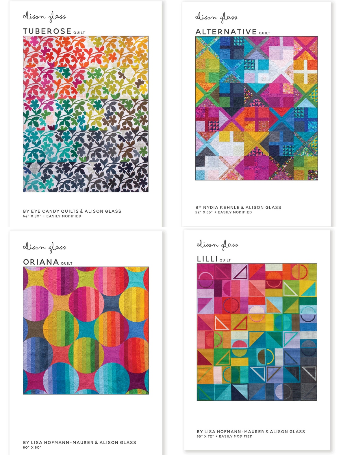 New Alison Glass Sewing Patterns