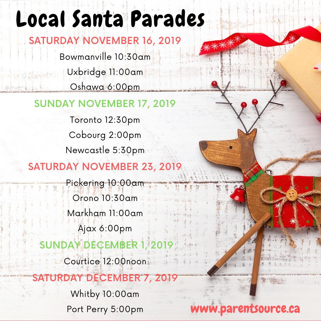 Santa Parades 2