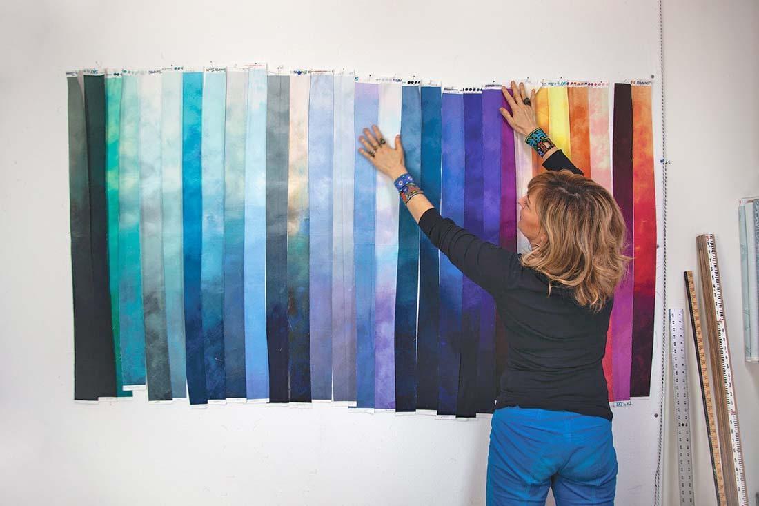 Sky Fabric Jennifer Sampou