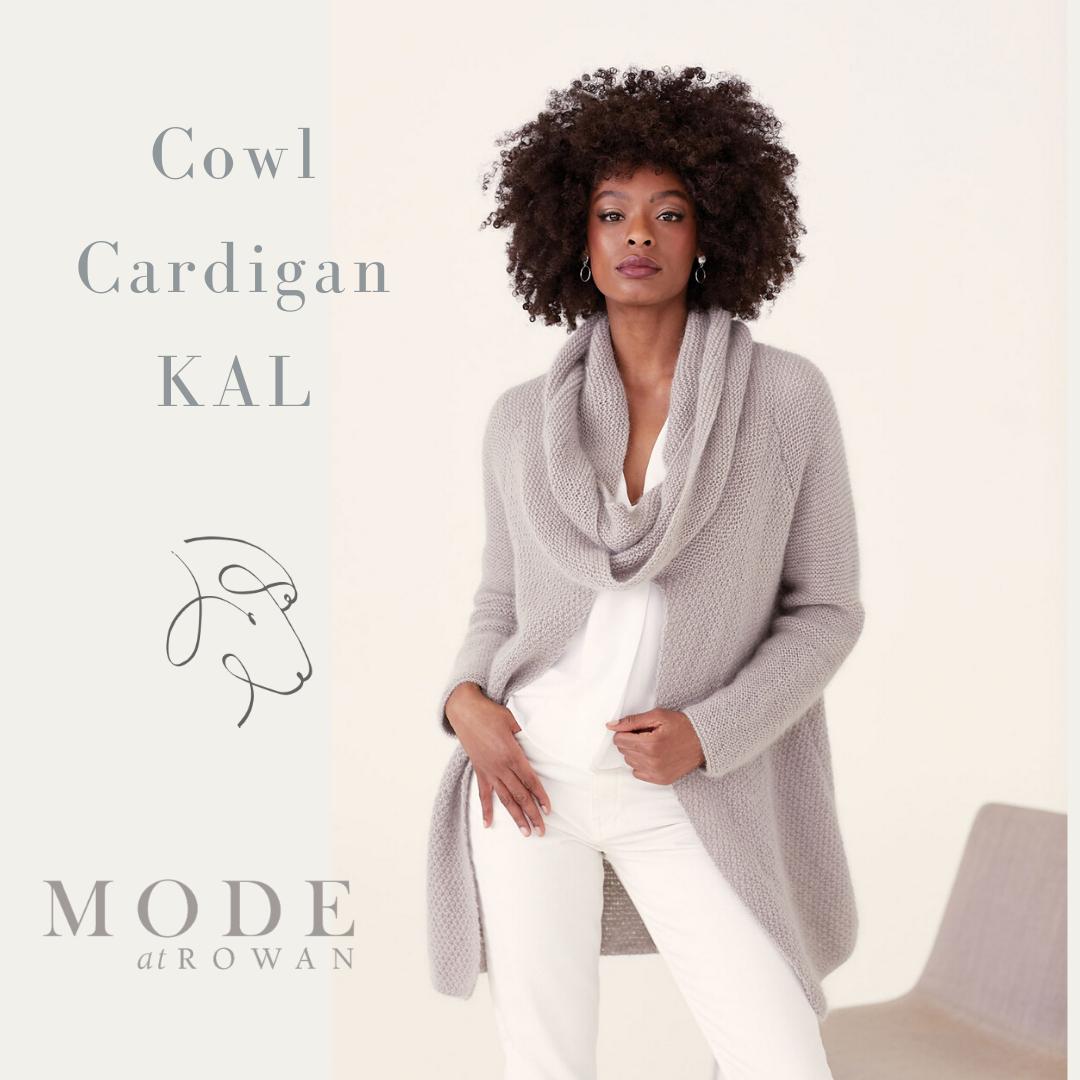 Cowl Cardigan KAL