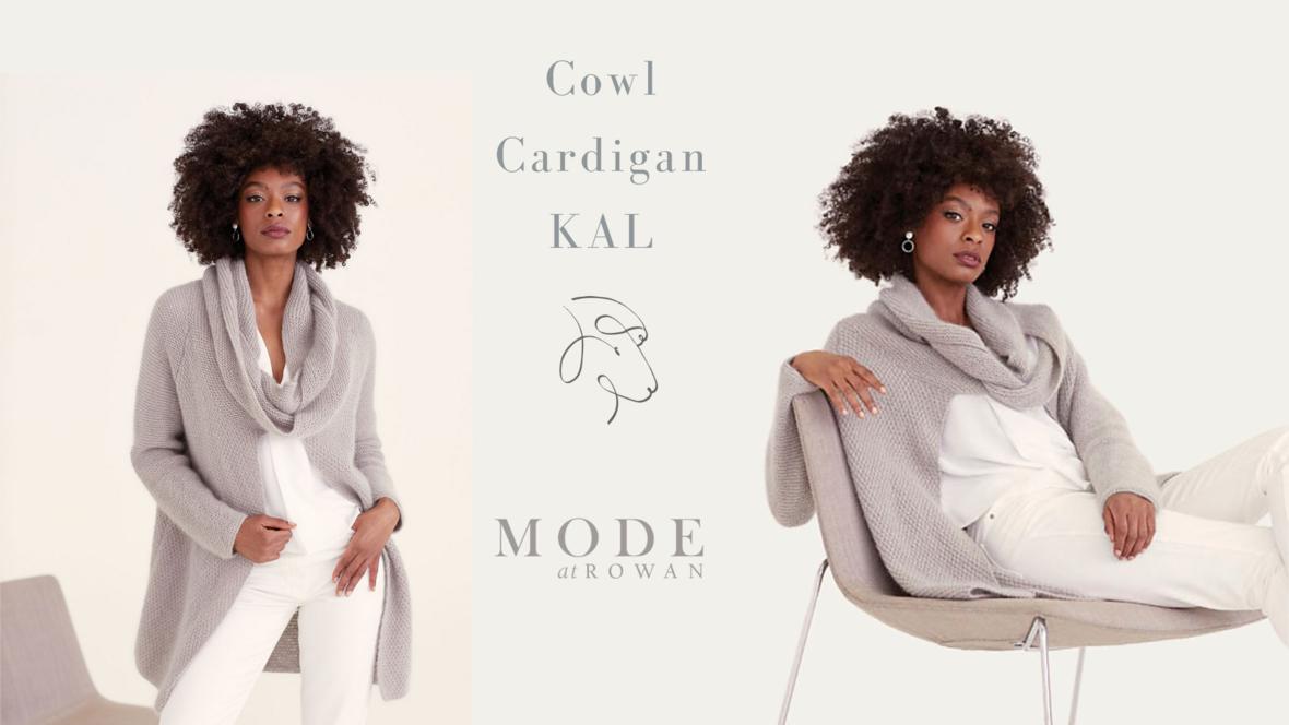 Cowl Cardigan KAL event