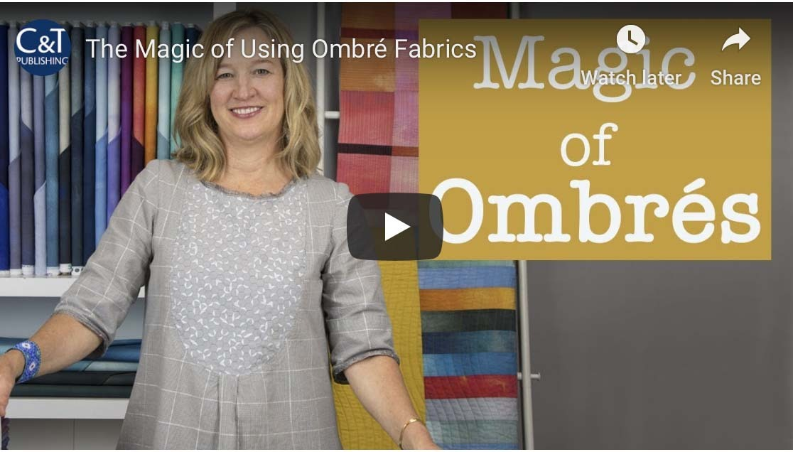 Ombre Quilt Video