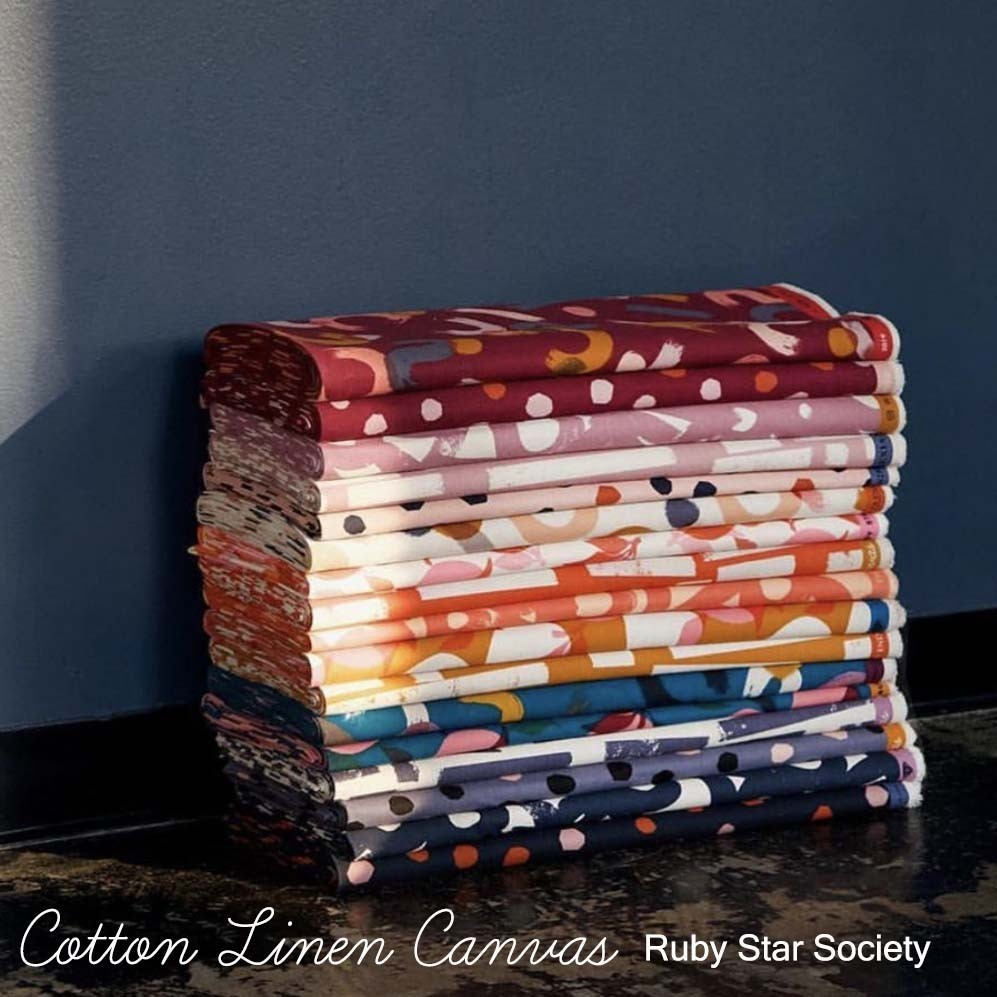 Cotton Canvas Ruby Star Society at Hawthorne Supply Co