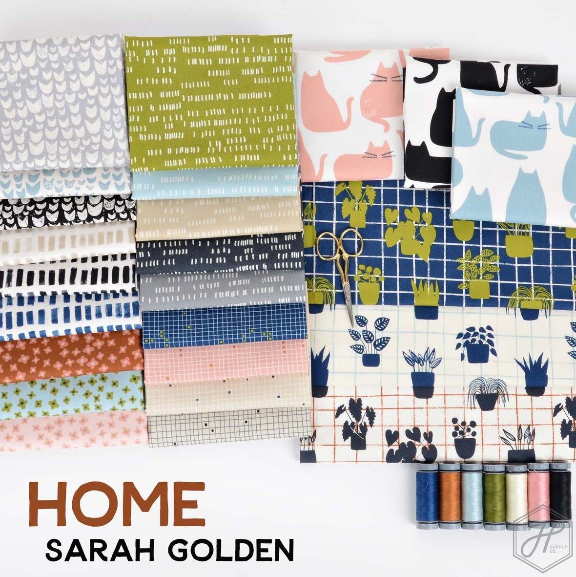 Home Sarah Golden Fabric for Andover at Hawthorne Supply Co