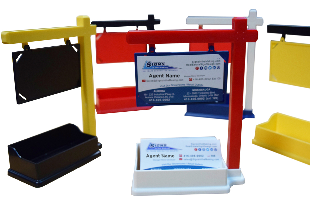 Business Card Holders RealEstate Sign