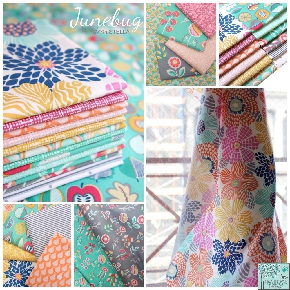 Junebug Fabric Poster