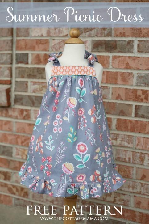 Summer Picnic-Dress  DS Blog