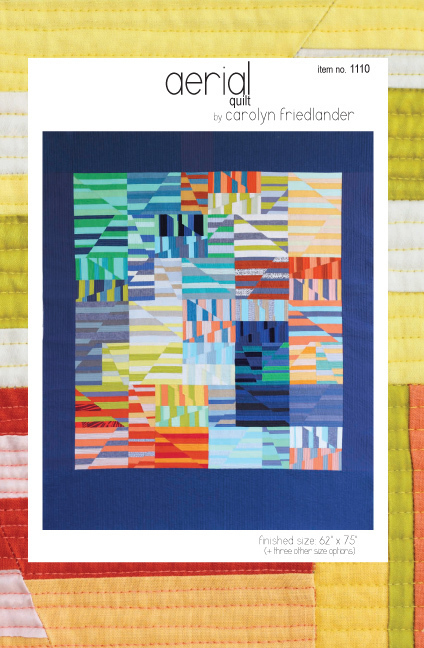 carolyn friedlander aerial quilt sewing pattern