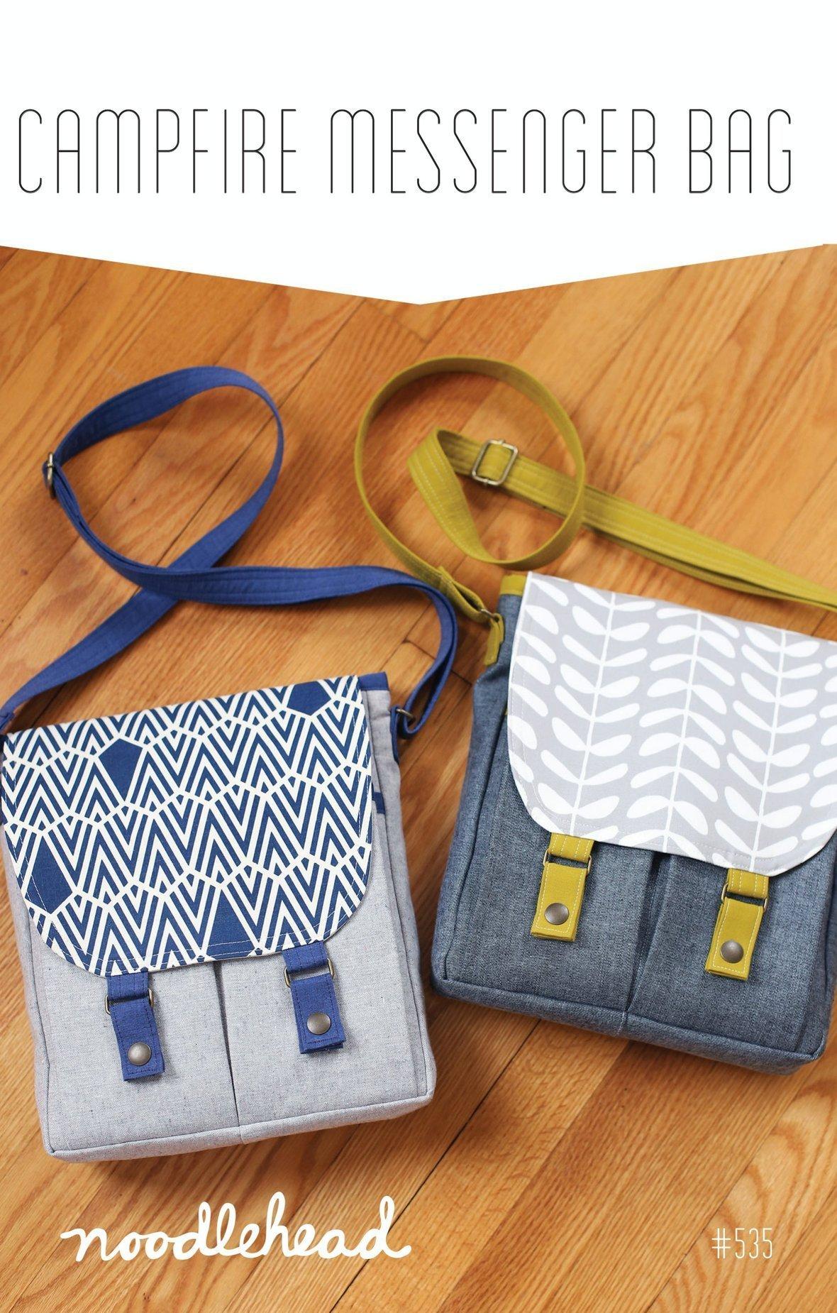 noodlehead campfire messenger bag sewing pattern