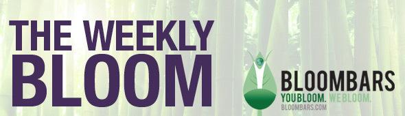 BloomBars Weekly Bloom Newsletter