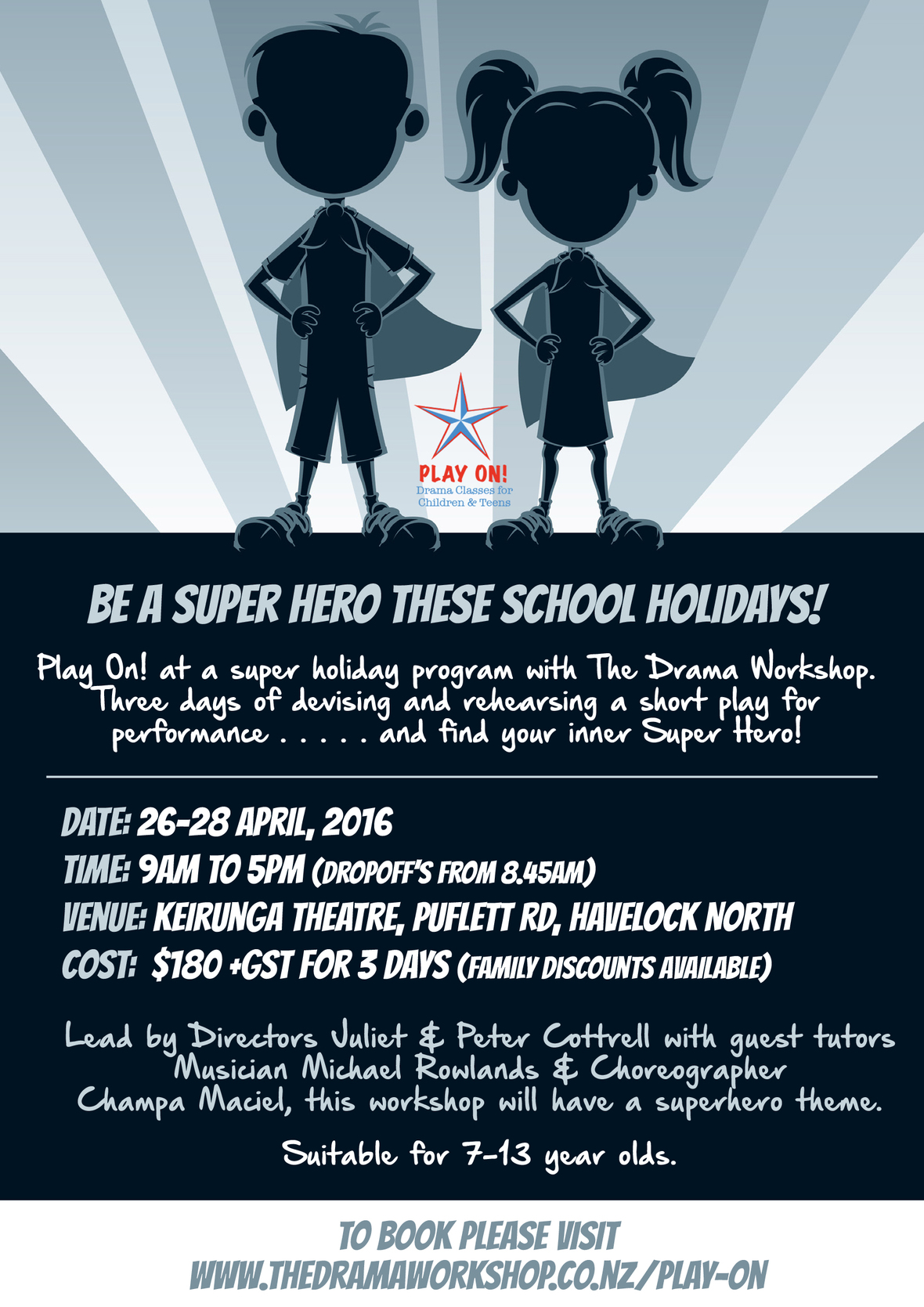 Superhero flyer - A5